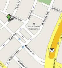 Dallas Yellow Brick Path Map to Yellow Brick Path Yellow Brick Path