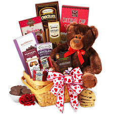 chocolate gift basket teddy chocolates s day gift basket by