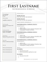 Resume Template Download Free Microsoft Word Make Free Resume Download Free Resume Template And Professional