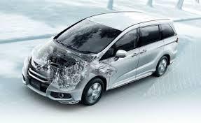 honda odyssey mpg 2010 as honda launches high mpg odyssey hybrid minivan