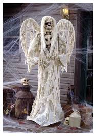 Wholesale Outdoor Halloween Decorations by 72 Inch Winged Gruesome Greeter