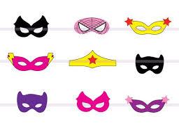 superhero mask printable connor u0027s superhero karaoke party