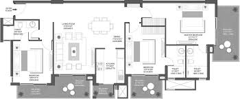 Icon Floor Plan by Godrej Icon By Godrej Properties In Sector 88a Gurgaon Price