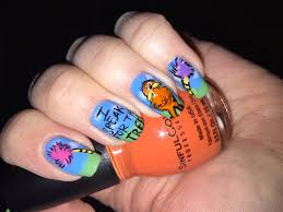 dr seuss nails the lorax nail art youtube