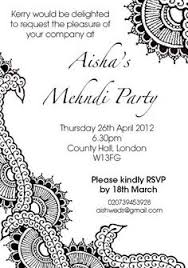 henna invitation lace engagement invitations invitations adults