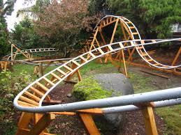 diy backyard roller coaster home design