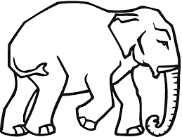 colouring pages of elephant coloring pages elephant