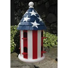 Red Roof Lexington by Lexington Studios Stars U0026 Stripes Birdhouse 81004r Ss Fine Art