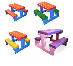 Kids Outdoor Picnic Table Indoor Picnic Table Folding Portable Picnic Table Aluminum Picnic