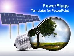 solar panel powerpoint template solar energy powerpoint
