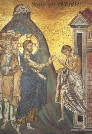 Christ Healing The Blind 01 Anonymous Christ Heals The Two Blind Men On The Road To