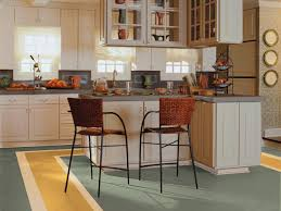 Retro Linoleum Floor Patterns linoleum flooring in the kitchen hgtv