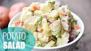 how to make potato salad easy u0026 healthy recipe youtube