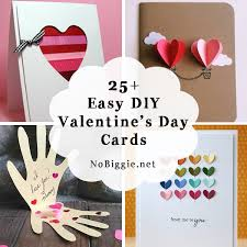 valentine s 25 easy diy valentine s day cards