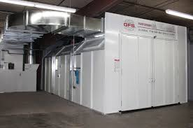 problem solved bigger better paint booth for auto body shop problem solved bigger better paint booth for auto body shop gfs booth blog