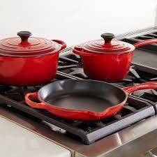cast iron enamel cookware ultimate cast iron set le creuset official site