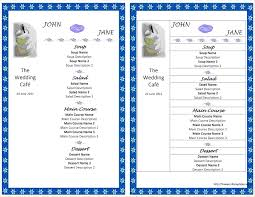 Wedding Budget Spreadsheet Template 8 Microsoft Word Menu Template Procedure Template Sample