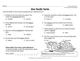 types of context clues worksheets worksheets releaseboard free