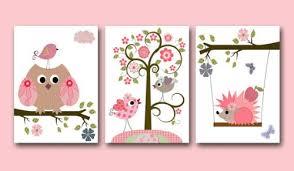 eulen kinderzimmer kinderzimmer poster set eule und igel rosa poster matt