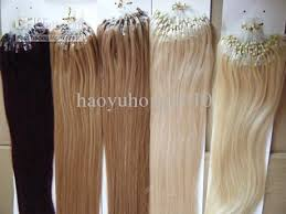 micro rings hair extensions links loop micro ring human hair extensions 100 indian remy hair