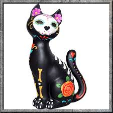 day of the dead cat search inspiration