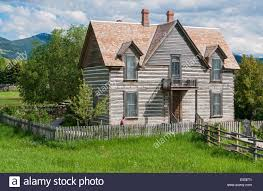 montana house montana bozeman museum of the rockies living history farm stock