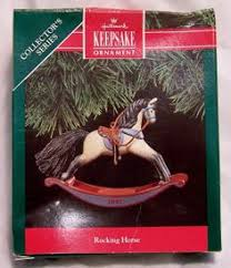 rocking horses horses and ornament on