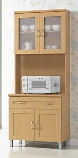 Kitchen Pantry Cabinet With Microwave Shelf Bar Cabinet - Kitchen microwave pantry storage cabinet