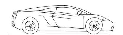lamborghini car drawing how to draw a car for lamborghini gallardo side view