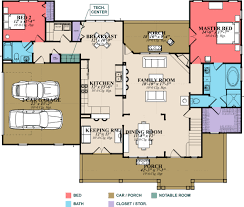 farmhouse style house plan 4 beds 3 00 baths 2565 sq ft plan 63 271