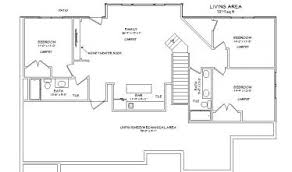 Home Floor Plans With Basement Basement Design Ideas Plans U2013 Mobiledave Me