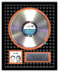 personalized record album gold record awards and promotional guitars custom promotional