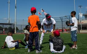 washington nationals use baseball as a beacon of hope at youth