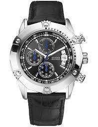 montre guess bracelet cuir images U16518g2 en stock montre guess homme chronographe sport bracelet jpg