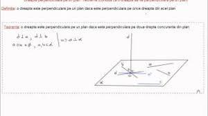 rezolvarea unei probleme cu teorema celor trei perpendiculare