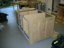 Kitchen Island Cabinet Plans Wall Kitchen Cabinet Basic Carcass Plan With How To Build Kitchen