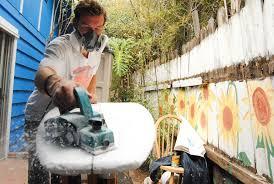 isla vista resident turns garage into surfboard shaping bay u2013 the