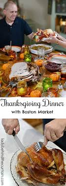 dinner with boston market