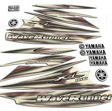 2000 yamaha 1200xl decals sticker kit maroon waverunner 1200 xl