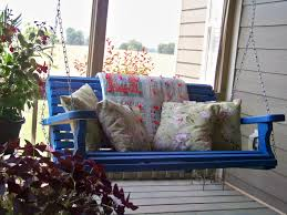 Front Patio Chairs by Furniture Charming Wooden Porch Swings With Iron String And A