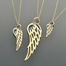 jewelry wings necklace images Set of angel wing necklaces favoriterunshop jpg
