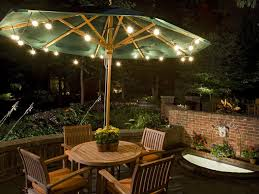 and artistic outdoor patio lights backyard landscape design