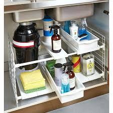 kitchen sink storage ideas kitchen sink drawer insert storage solutions cabinet
