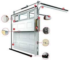 Parts Of Garage Door by Sam U0027s Garage Doors In Albuquerque Nm Repair Openers Springs