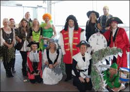 successful fundraising fancy dress day for tesco staff