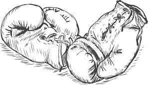 vector sketch illustration boxing gloves vector art thinkstock