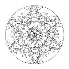 Coloriage Gratuit Mandala Coloriage Mandala Noel Gratuit A Imprimer