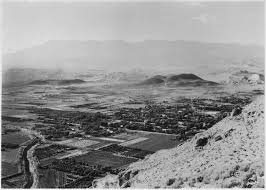 file view of village of hurricane utah from top of hurricane