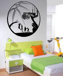 vinyl wall decal sticker basketball design 5083