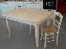 tavoli sedie tavolo allungabile in legno avorio decapato con 4 6 sedie